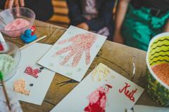 Finger Art Handmade Greeting Cards