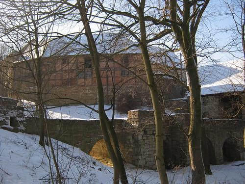 Burg Lohra auf der Hainleite