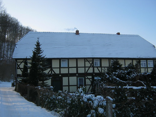 Friedrichslohra, Fachwerkhaus