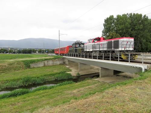 Trains de l'Orbe Chavornay (Suisse)
