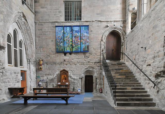 Pluscarden Abbey interior
