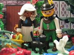 The Witch Cat - A Playmobil Faerie Tale