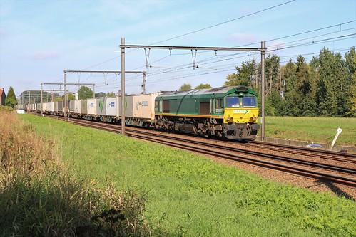 Railtraxx 266 024-9 92 80 1266 024-9 Diepenbeek 09-09-2019