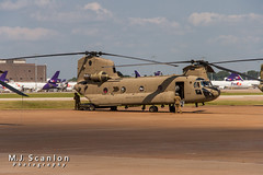 07-08735 US Army National Guard | Boeing CH-47F Chinook | Memphis International Airport