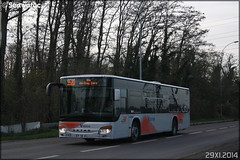 Setra S 415 NF – Cars Lacroix / STIF (Syndicat des Transports d'Île-de-France) / Valoise n°881 - Photo of Puiseux-Pontoise