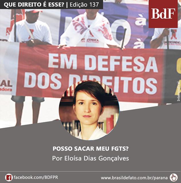 Eloísa Dias Gonçalves é advogada popular e colunista do Brasil de Fato Paraná - Créditos: Arte: Vanda Moraes