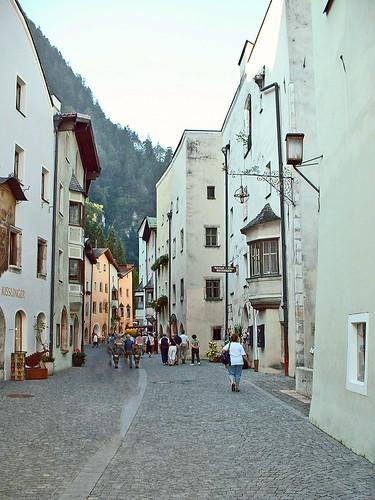Autriche, la visite de la vieille ville de Rattenberg