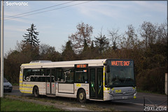 Heuliez Bus GX 327 – Stivo (Société de Transport Interurbaine du Val d'Oise) / STIF (Syndicat des Transports d'Île-de-France) n°125 - Photo of Courdimanche
