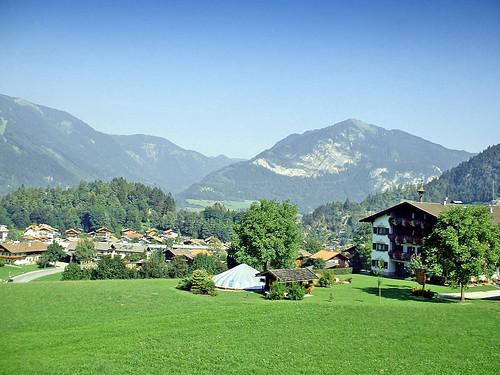 Autriche, ce très jolie village de Fugen dans la vallée