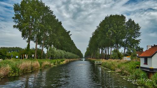 Kanal in Damme