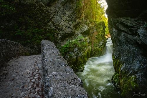 Le Saut du Brot (Gorges de l'Areuse - Suisse)
