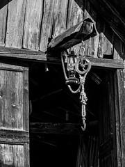 suspendus - Photo of Entraunes