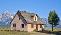 Image by Runemaker (runemaker) and image name Pioneer Home photo  about Mormon Row, Jackson Hole, Wyoming, USA