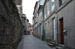 Walking along old streets