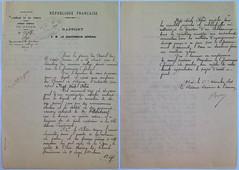 Báo cáo Khâm sứ Trung Kỳ gởi Toàn quyền Đông Dương ngày 6/11/1896.