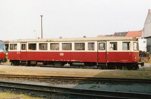 HSB: Triebwagen 187 012-0 in Nordhausen Nord