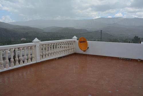 lluvia in Ocaña, Almería