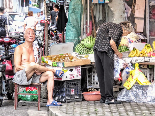 Fruits shop, #Shanghai