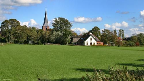 Groningen: Noordhorn village green