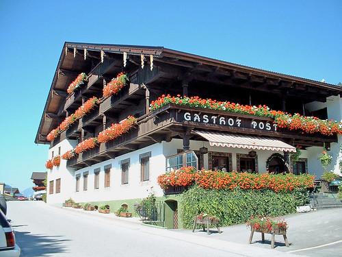 Autriche, chalet de l'hôtel Crystal du village de Fugen