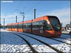 Alstom Citadis 302 – Setram (Société d'Économie Mixte des TRansports en commun de l'Agglomération Mancelle) n°1014 (Bérengère)