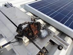 solar panel failure