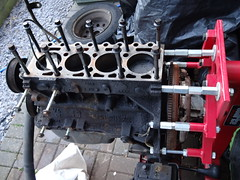 ford endura engine stripped