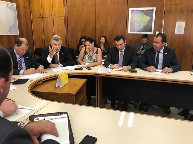 09/09/2019 Reunião Ministério da Agricultura - Crise da Orizicultura