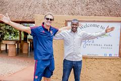 Arsenal Legend Tony Adams Visits Rwanda