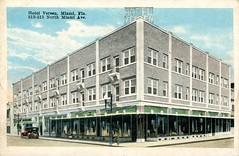 Hotel Vereen Downtown Miami Vintage Postcard