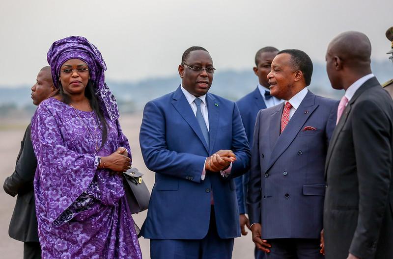 Arrivée Brazzaville