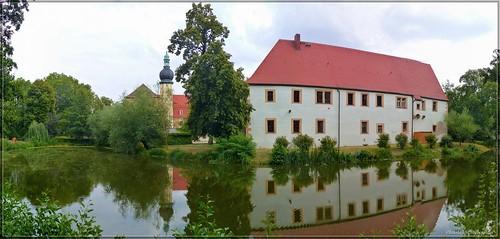Altes Schloss in Hof bei Oschatz