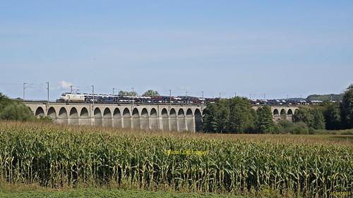 E 37511 Train Ile Napoléon-Gevrey à Dannemarie