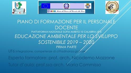 Educazione ambientale Esperto formatore prof. Nicodemo Mazzone