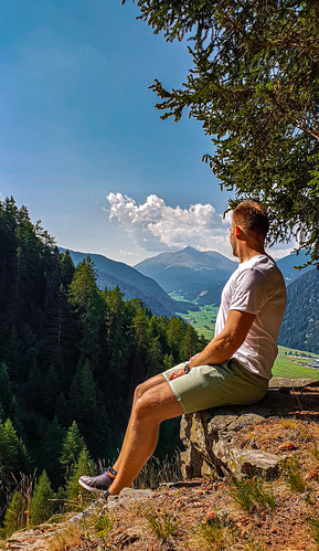 Staring into the Austrian Alps