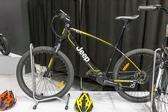 E-Bike auf der IFA: Jeep Elektrorad in gelb und schwarz
