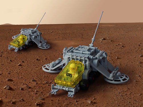 Seismic imaging rover