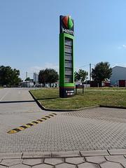 Gas station near Köthen 07/2018