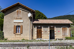 Gare de la Mure-Argens - Photo of Moriez