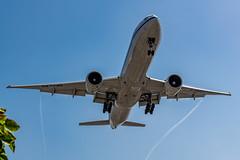 Air China 777 Landing at LAX
