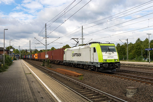 Schwarzenbek Captrain 185 649-1 Container