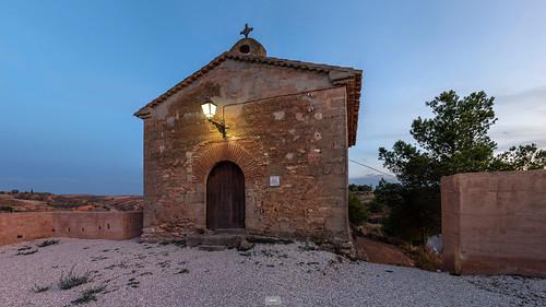 Moyuela - Ermita de San Jorge (click on the link for the 360º view)