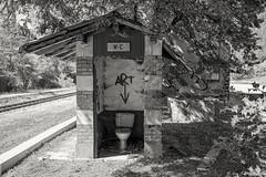 Ancien WC de la gare de Chaudon-Norante