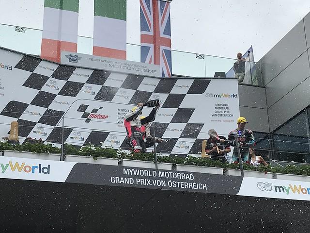 John McPhee Moto3 Podium