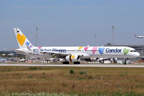 Condor / D-ABON / B 757-330(W)