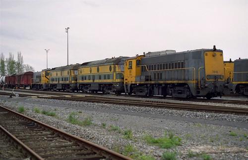 NMBS 7618+5917+5916+7603 Voroux
