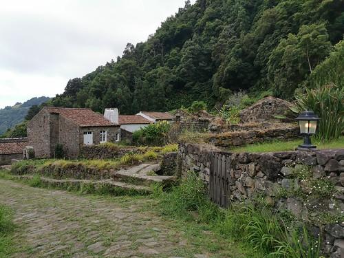 casas del caserio Sanguinho Isla San Miguel Azores Portugal 03