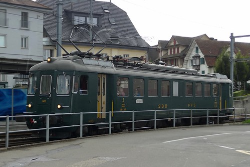 RBe 4/4 1405 SBB CFF FFS Hochdorf Switzerland