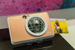 Kleiner Fotodrucker:: Canon IVY Mobile Mini Photo Printer with Bluetooth