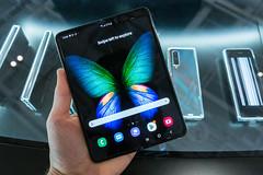 Smartphone-Neuheiten und erste Foldable-Generation auf der IFA vorgestellt: verbessertes Samsung Galaxy Fold 5G Handy